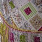 Patchwork quilt lap quilt sweetshop..