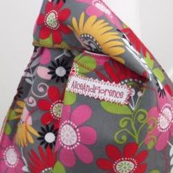 shoulder bag tote bag shopping bag reversible sewing bag knitting bag casual bag two for one
