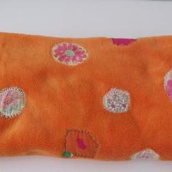 baby girls blanket orange baby blanket girls baby blanket toddler blanket